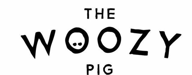 The Woozy Pig Logo (White Background)